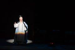 """Shan di studio-Shanxi Operatic""""Fu del taoista al  di Beijing†Fotografie Stock Libere da Diritti"""