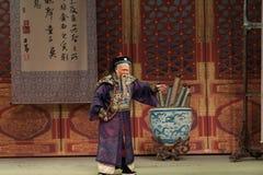 Shan för ungkarlFeng Bo-Shanxi Operaticâ €œFu till Beijing† Royaltyfri Bild