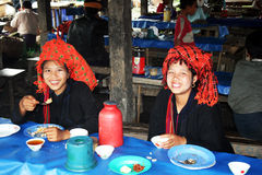 Shan girls Royalty Free Stock Photos