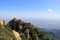 Shan nacional chino del Tai de la montaña foto de archivo