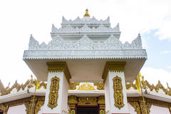 Shan Pagoda in Wat Fah Wiang In, Wianghaeng Chiangmai Thailand Royalty Free Stock Photos