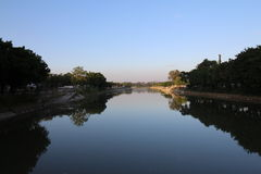 The Shan Pui River Royalty Free Stock Image