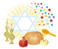 SHANA TOVA Stock Photo