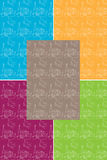 Shana-tova Papier Lizenzfreies Stockfoto