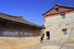 Shanchong ancient dwellings Royalty Free Stock Photo