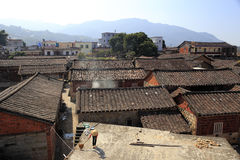 The shanchong ancient dwellings Stock Photos