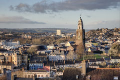 Shandon wierza w Korkowym mieście, Irlandia obrazy royalty free