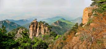 Shandong Linyi Meng Eagle nest peak Stock Images
