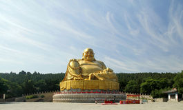 Shandong Qianfoshan Buddha Royalty Free Stock Photography