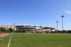 Shandong Qinhuangdao Olympic Sports Center Stadium Stock Images