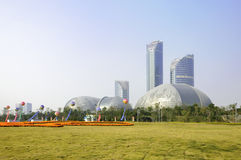 Shandong would Cultural Arts Center Theater Royalty Free Stock Images