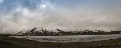 Shandur lake and pass, Gilgit-Baltistan Province Pakistan Royalty Free Stock Image