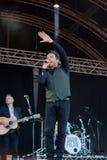 Shane Filan live at the Westport Festival Royalty Free Stock Photos