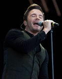 Shane Filan live at the Westport Festival Stock Photos