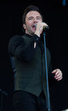Shane Filan live at the Westport Festival Royalty Free Stock Photo
