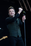 Shane Filan live at the Westport Festival Stock Photography