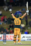 Shane Watson celebrates on his century Stock Photography