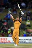 Shane Watson celebrates on his century Royalty Free Stock Image