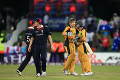 Shane Watson and Ricky Ponting Royalty Free Stock Image