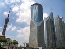 Shangai céntrica Fotografía de archivo libre de regalías