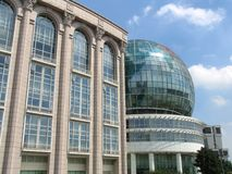 Shangai céntrica imagen de archivo libre de regalías