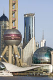 Shangai céntrica Fotos de archivo libres de regalías