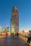 Shangai, China - 30 de abril de 2017: edificio en Lujiazui Fotografía de archivo