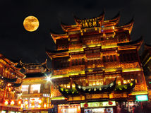 Shangai de oro Imagen de archivo libre de regalías