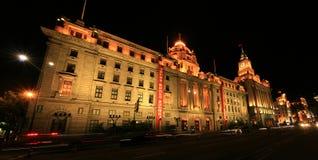 Shangai, el enlace Foto de archivo libre de regalías