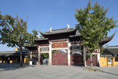 Shangai Longhua Temple Imagenes de archivo