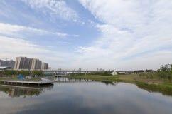 Shangai no-urbana Fotos de archivo libres de regalías