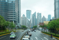 Shangai, Pudong Imagenes de archivo