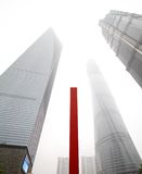 Shangai Smoggy Fotografía de archivo