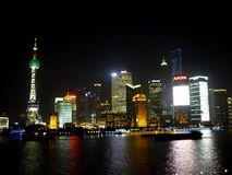 Shangai stad Arkivbilder