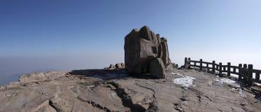 shangdong провинции держателя пиковое на юг taishan Стоковые Изображения