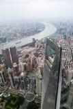 Shanghai-Überblick Stockbilder