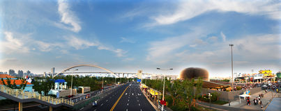 Shanghai 2010 expo panorama Stock Photos