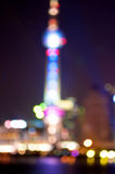 Shanghai abstract lights Stock Photo