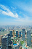 Shanghai aerial Royalty Free Stock Images
