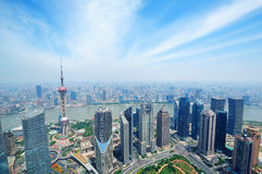 Shanghai aerial Stock Photography