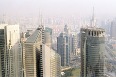 Shanghai aerial Royalty Free Stock Photography