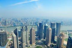 Shanghai aerial view Stock Image