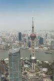 Shanghai aerial view Stock Photo