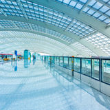 Shanghai airport Stock Photography