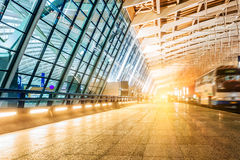 Shanghai airport buildings Stock Photography