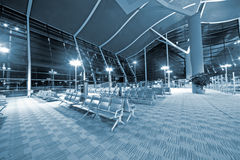 Shanghai airport lounge Stock Photo