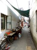 Shanghai alley Stock Image
