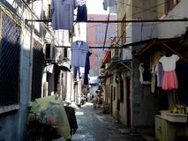 Shanghai alley Stock Photo