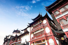 Shanghai ancient architecture Royalty Free Stock Image