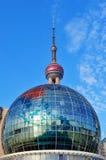 Shanghai architecture Royalty Free Stock Photo
